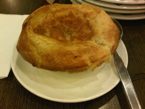 Puff Pastry soup PH