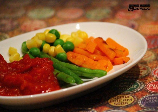 Saus dan sayuran