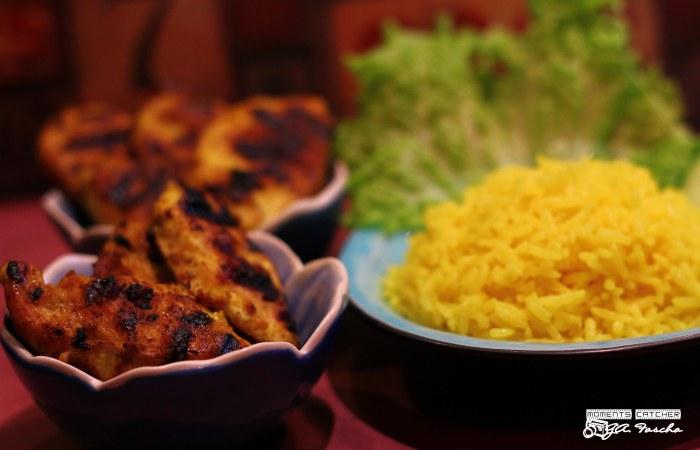 Nasi Kuning & Ayam Panggang