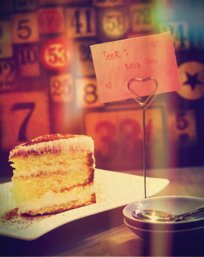 Tiramisu Cake bikinan berdua *bahan instan*