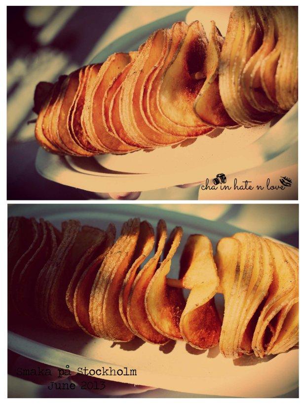 Twisted Fried Potato