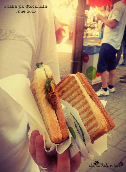 Sandwich Kantarell