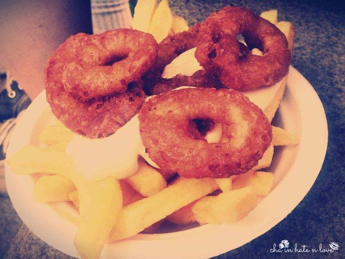Deep Fried Calamaries and Aioli Sauce