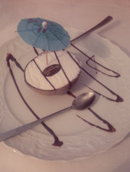 Dessert Es krim Kelapa Muda