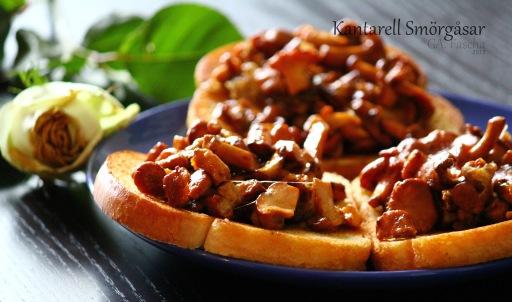 Sandwich Jamur Kantarel