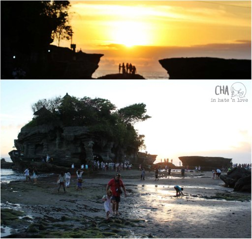 Sunset di Tanah Lot