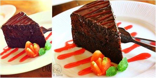 The Original Sin Devil Dark Food Cake