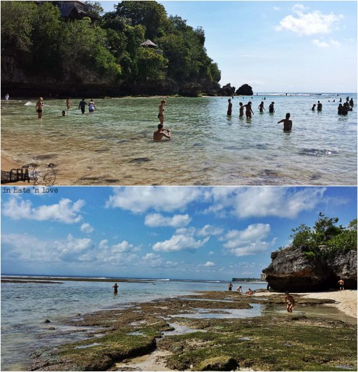 Padang- padang beach, again!