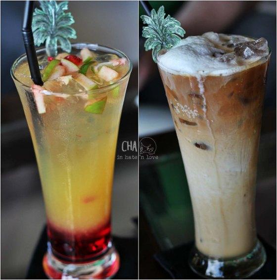 kloter kedua Ka : apel, jeruk squash Ki : ice latte