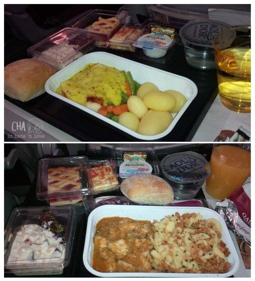 F&B Qatar Airways Economy Class