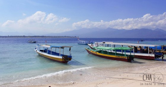 Slowboat from and to Gili Meno