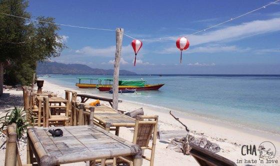 pantai sekitar D'mari kafé