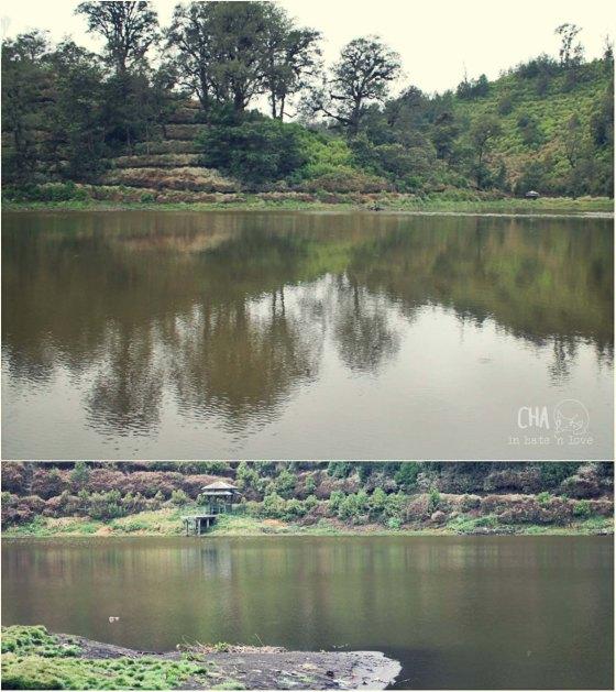danau di desa Ranu Pane