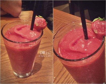 strawberry puré