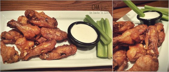 Appetizer Chicken Wings Blue Cheese