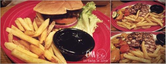 Main Course Jack Daniel's Burger Jack Daniel's Chicken Steak